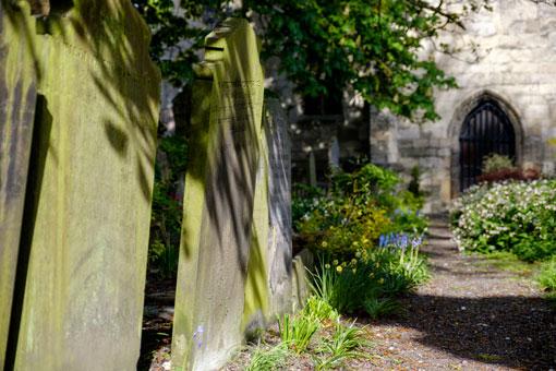 St Olave's Churchyard