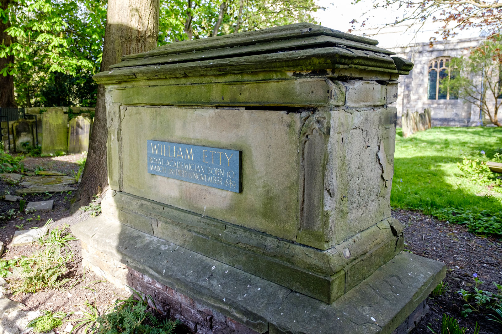 William Etty's Tomb
