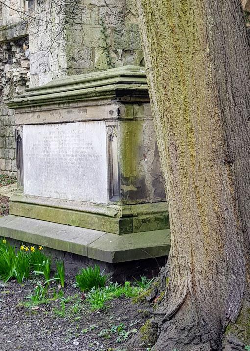 Etty's tomb