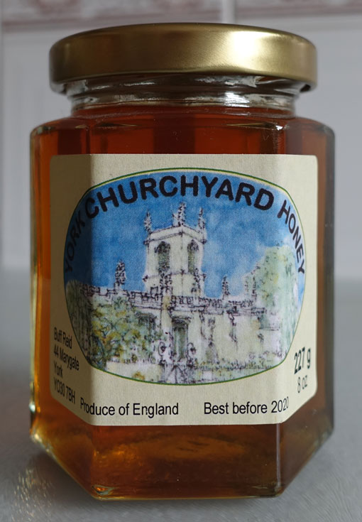York Churchyard Honey