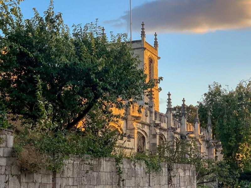 St Olave's Church on a summer's evening
