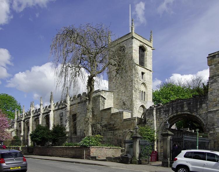 St Olave's Church (photo: Peter Wells)