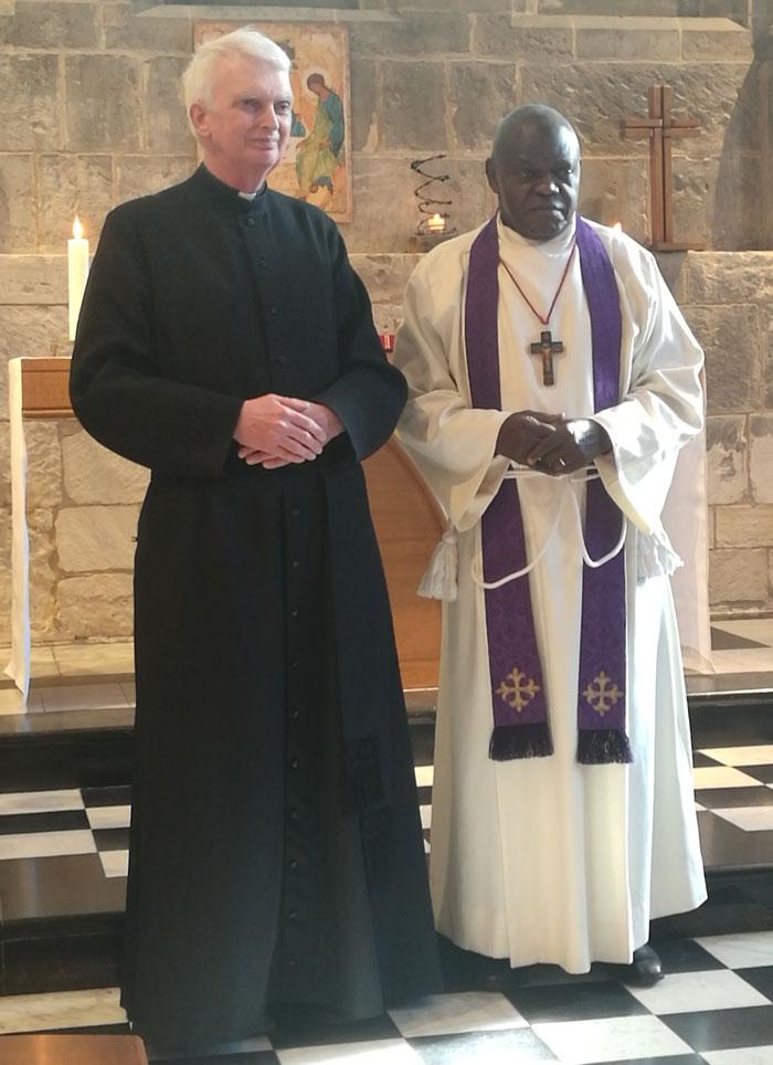 Kingsley Boulton and the Archbishop of York