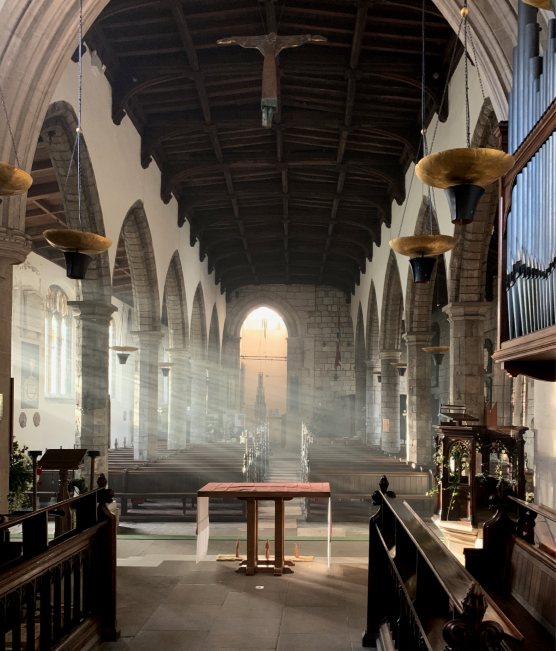 st olave's church interior