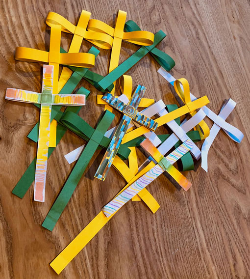 Sunday School Palm Crosses