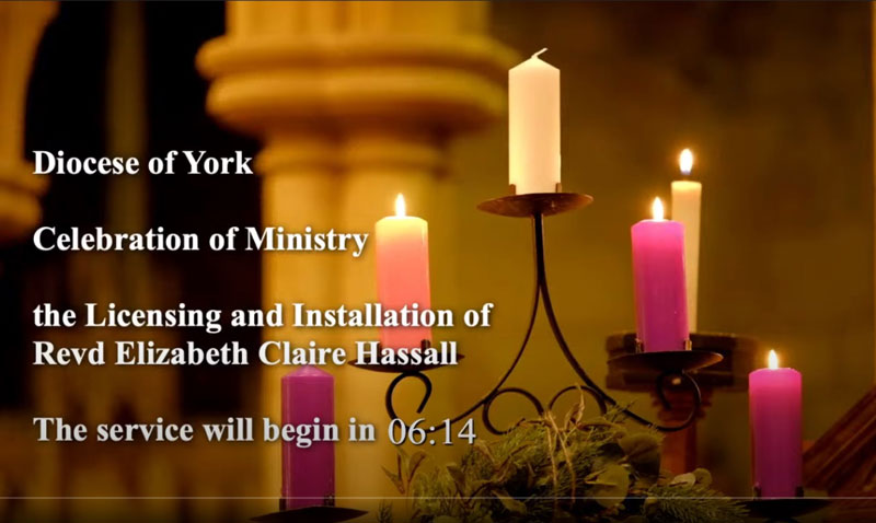 15 December: Click on the image to go to the service on YouTube