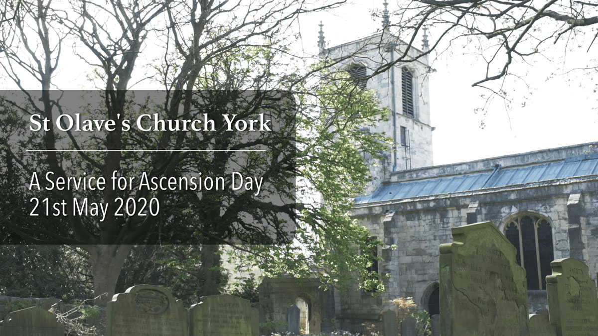Service for Ascension Day