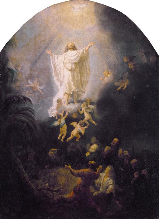 "Rembrandt ""The Ascension"""