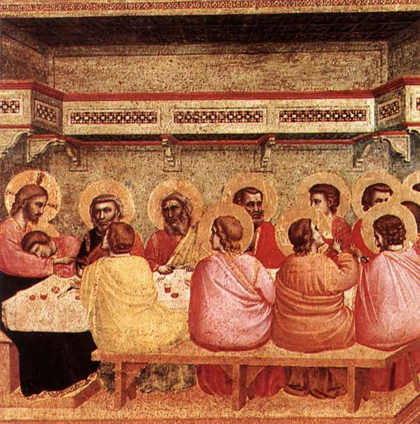 The Last Supper by Duccio (1311)