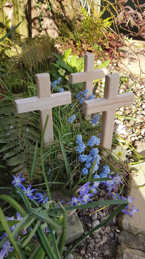Helen's lovely Easter Garden