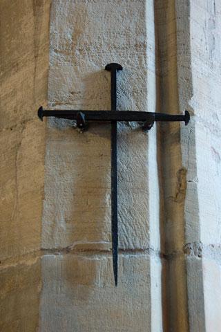 Cross of Nails, St Martin's Church. Photo: Derek Ralphs