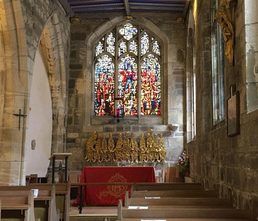The interior of St Martin's Church. Photo: Derek Ralphs
