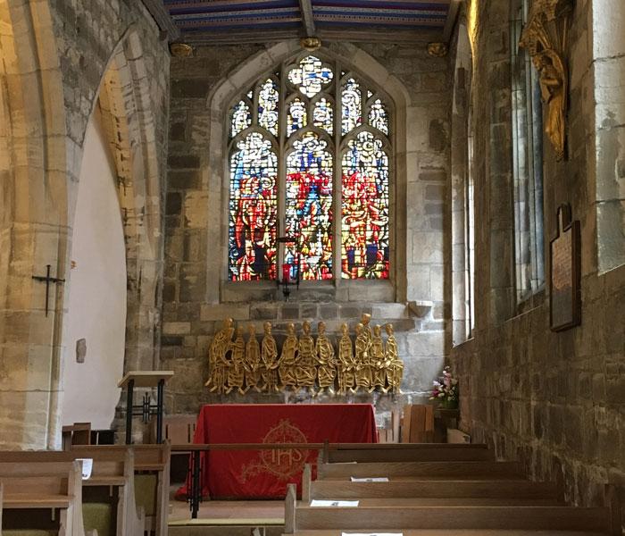 Interior of St Martin's Church