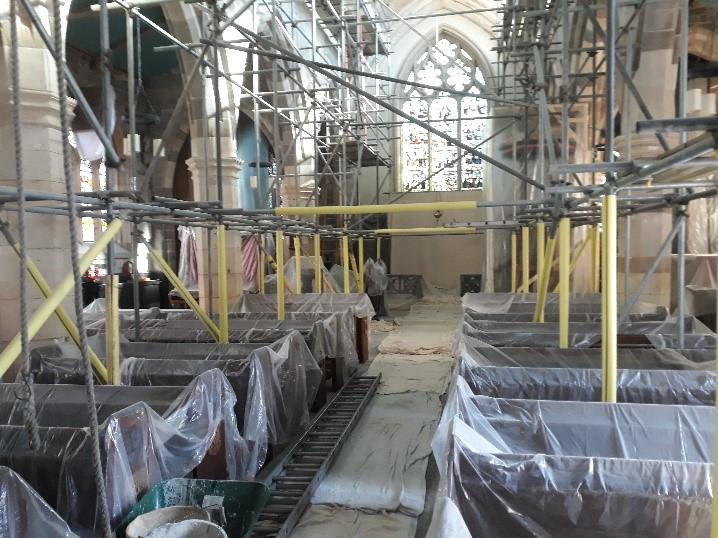 All Saints Pavement interior