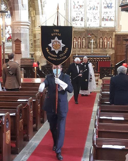 Royal Dragoon Guards procession