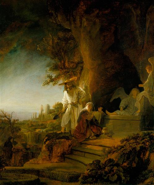 Alive again! Mary Magdalene at the tomb