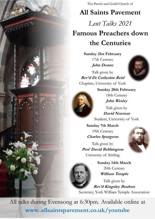 Famous Preachers down the Centuries
