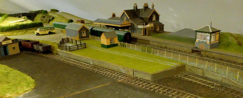 John's model of Camelford station