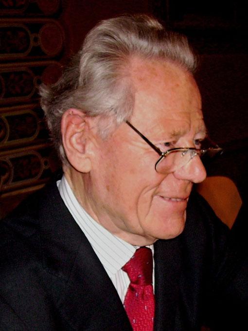 Hans Küng in 2009