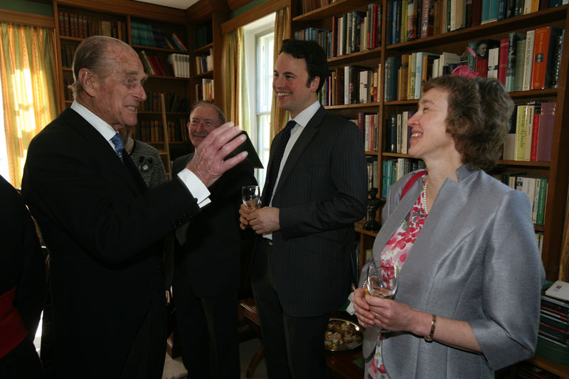 """Prince Philip describes the """"God save the King"""" moment"""