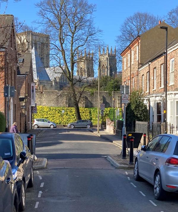 St John Street in spring