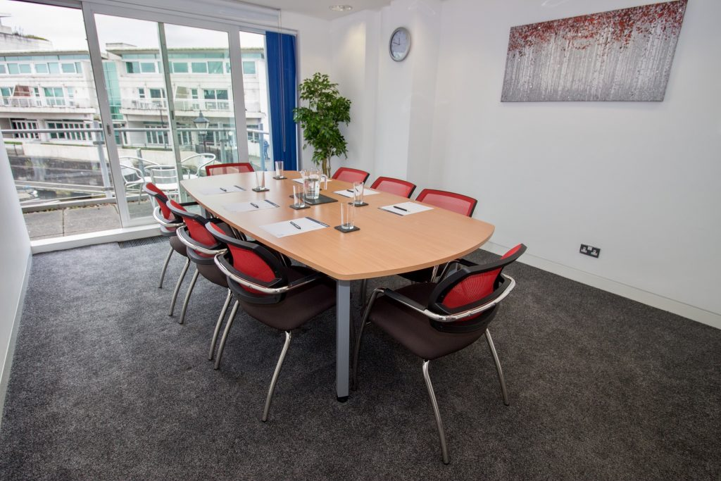 Event space in Cardiff Bay