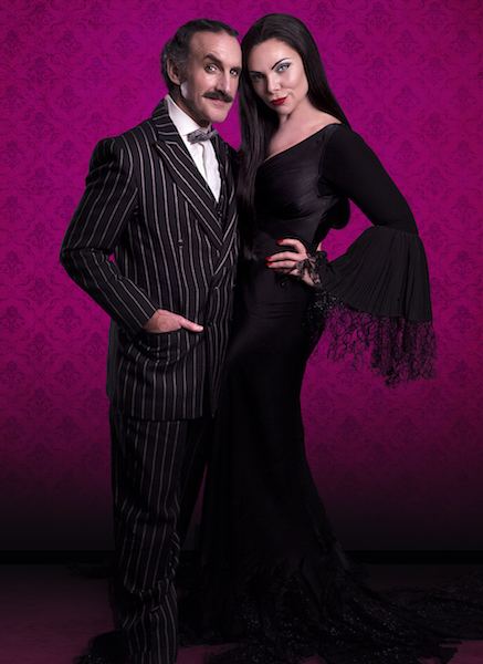Samantha Womack & Cameron Blakely to revive their roles as Morticia & Gomez in The Addams Family, A Musical Comedy