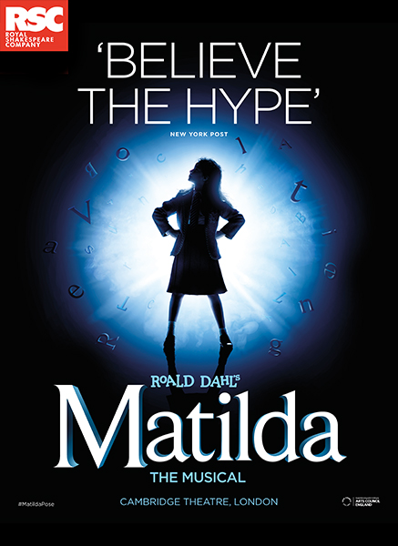 NEW CASTING ANNOUNCED FOR THE ROYAL SHAKESPEARE COMPANY'S MATILDA