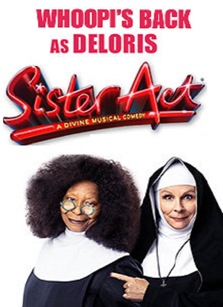WHOOPI GOLDBERG AND JENNIFER SAUNDERS TO STAR IN SISTER ACT! THE MUSICAL IN 2020