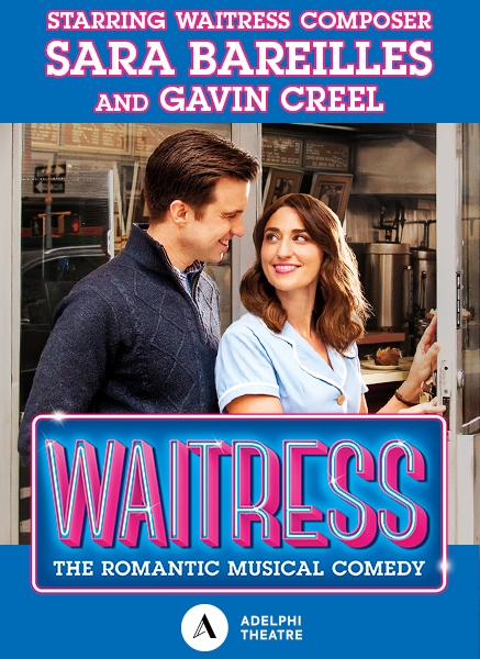Sara Bareilles and Gavin Creel to extend in Waitress