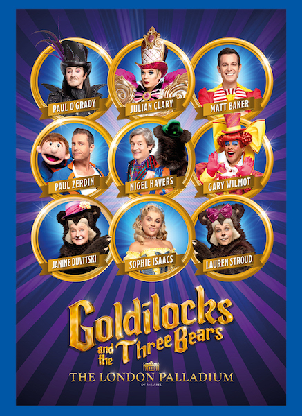 FINAL CASTING UPDATE FOR GOLDILOCKS AND THE THREE BEARS