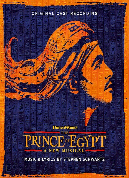 The Prince of Egypt Cast Recording CD to be Released on 20 November