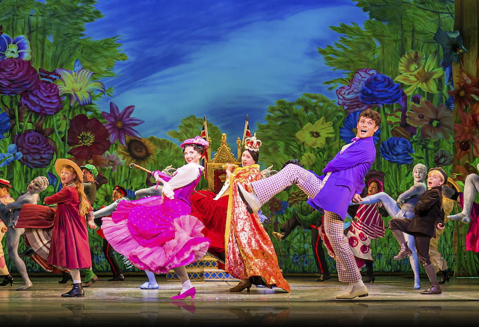 Zizi Strallen and Charlie Stemp in Mary Poppins