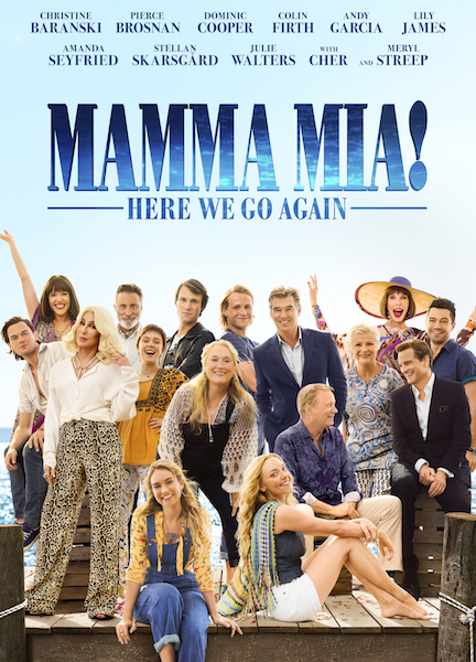 MAMMA MIA! HERE WE GO AGAIN on Netflix from Friday 26 June