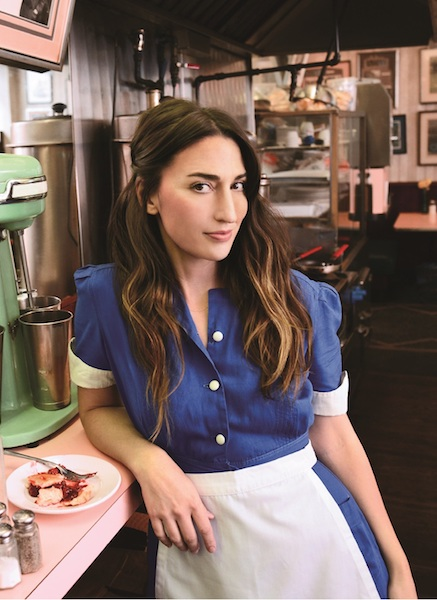 SARA BAREILLES WILL REUNITE WITH BROADWAY PARTNER GAVIN CREEL TO MAKE HER WEST END DEBUT IN HER HIT MUSICAL 'WAITRESS'
