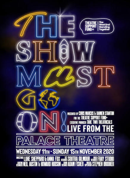 Casting announced for The Show Must Go On! LIVE at The Palace Theatre