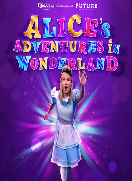 Future Spotlight Productions and KidZania announce the launch of Alice's Adventures in Wonderland