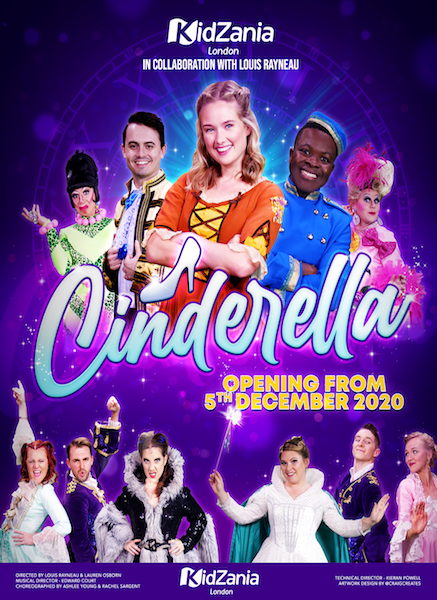 Cinderella Pantomime announced as part of Secret Christmas at KidZania London