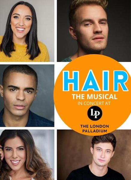 Hair the Musical (In Concert) to do performances at The London Palladium and The Southampton Mayflower Theatre