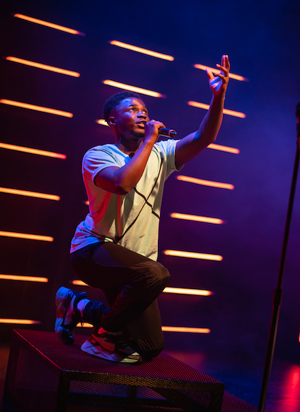 Live Theatre reopens with acclaimed production Shine by rapper and actor Kema Sikazwe