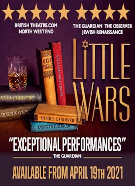 Critically acclaimed all-star digital revival Little Wars returns to stream.theatre