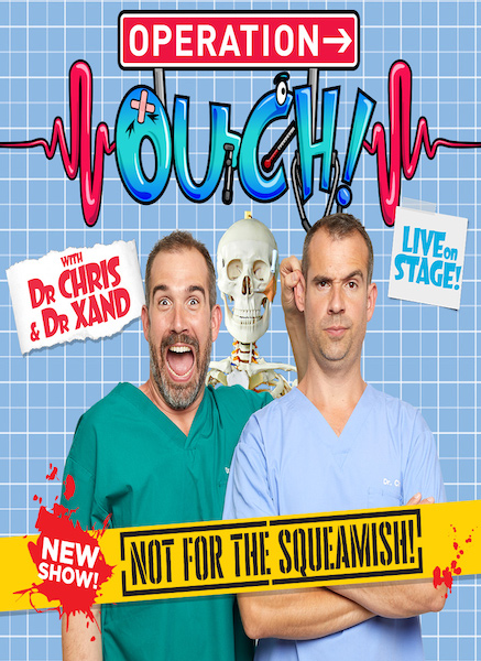 Dr Chris and Dr Xand return to London's West End for a strictly limited season