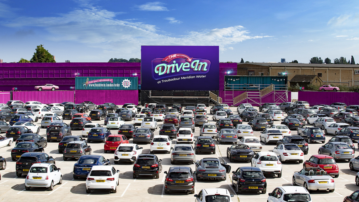 The Drive In – London's Contact Free Cinema is reopening on 12th April 2021