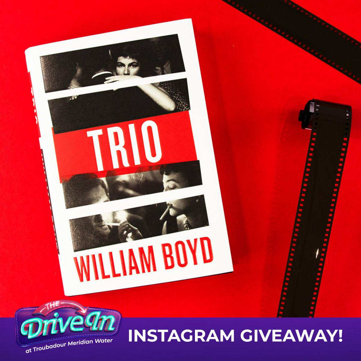 The Drive In Instagram Giveaway: Trio