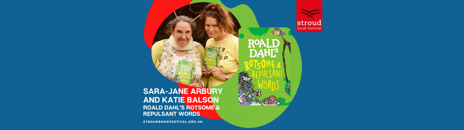 Sara-Jane Arbury and Katie Balson, Roald Dahl's Rotsome And Repulsant Words