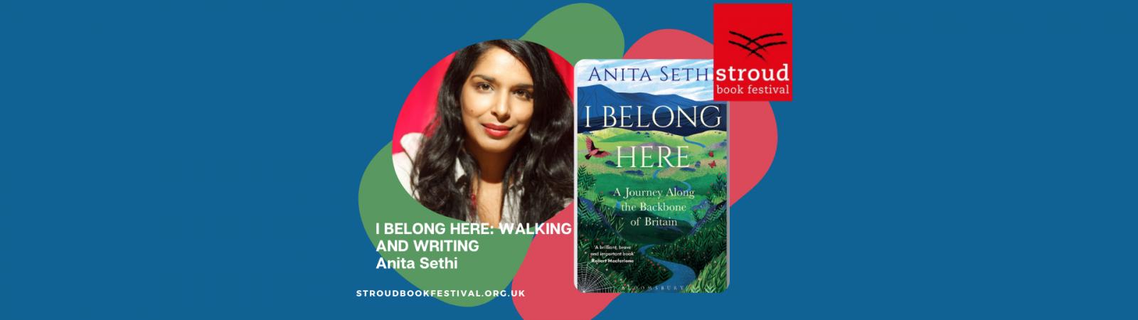 I Belong Here: Walking and Writing, Anita Sethi