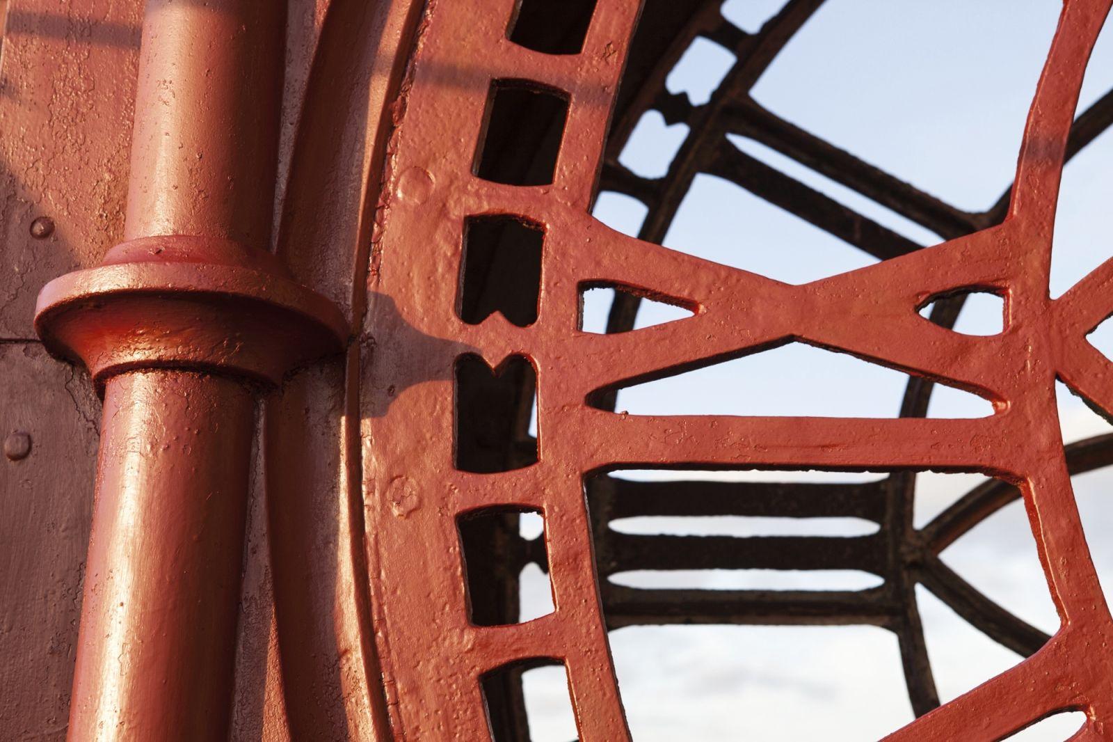 Union Chapel Clock Detail