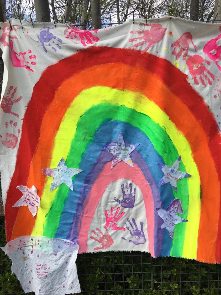 Bessamer School rainbow