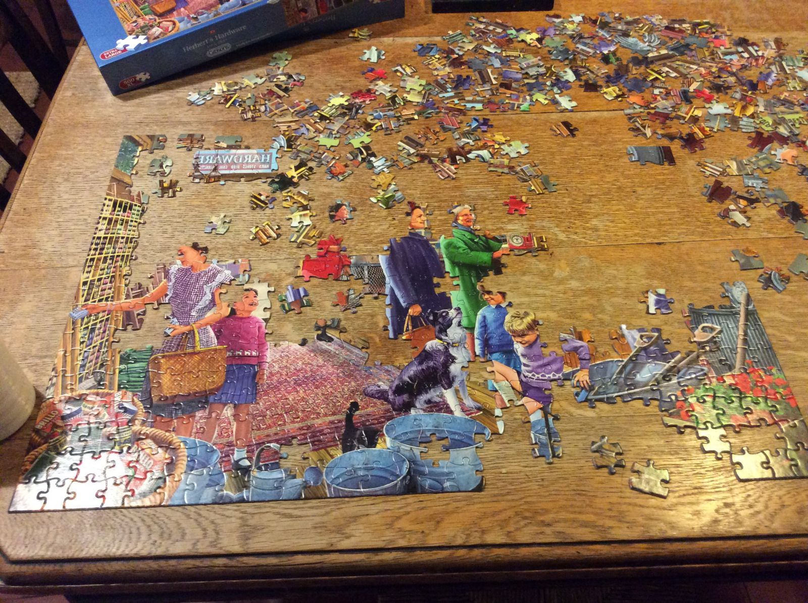 Finding time to do a Jigsaw