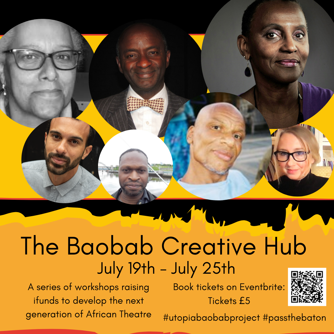 Utopia Theatre launches Baobab Project to raise funds for the next generation of African theatre makers